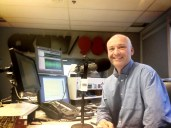 It was fun filling in for Simi Sara on CKNW radio when she went on holidays!