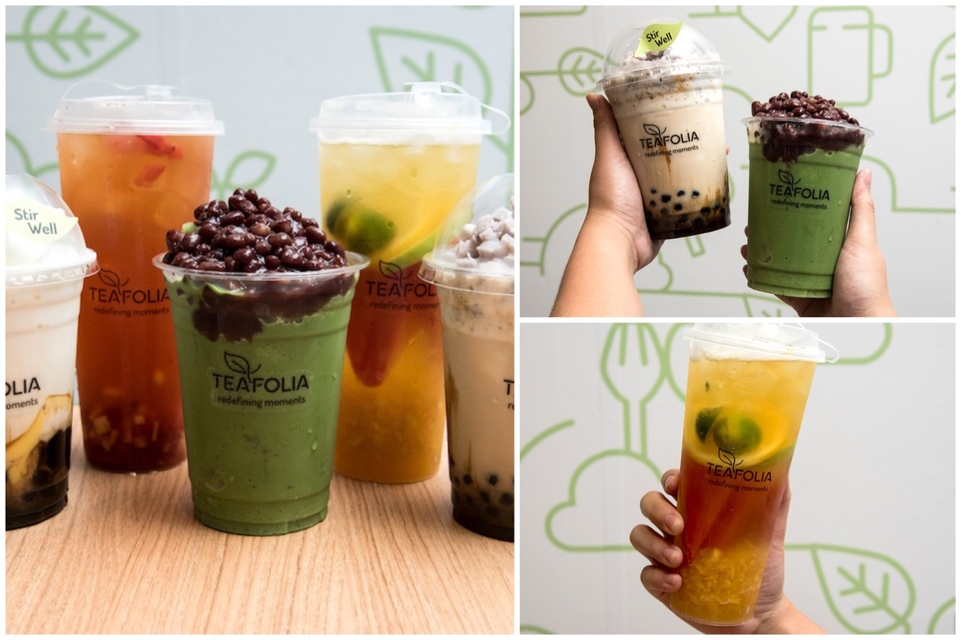 Teafolia Booming Trend Of Fruit Tea Kiosks In Singapore