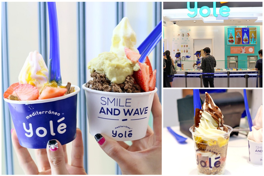 Yole Singapore – Goodbye llaollao. Yole Opens With Durian Toppings And Strawberry Froyo – DanielFoodDiary.com