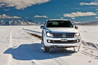VW-Amarok en la Patagonia, invierno 2011