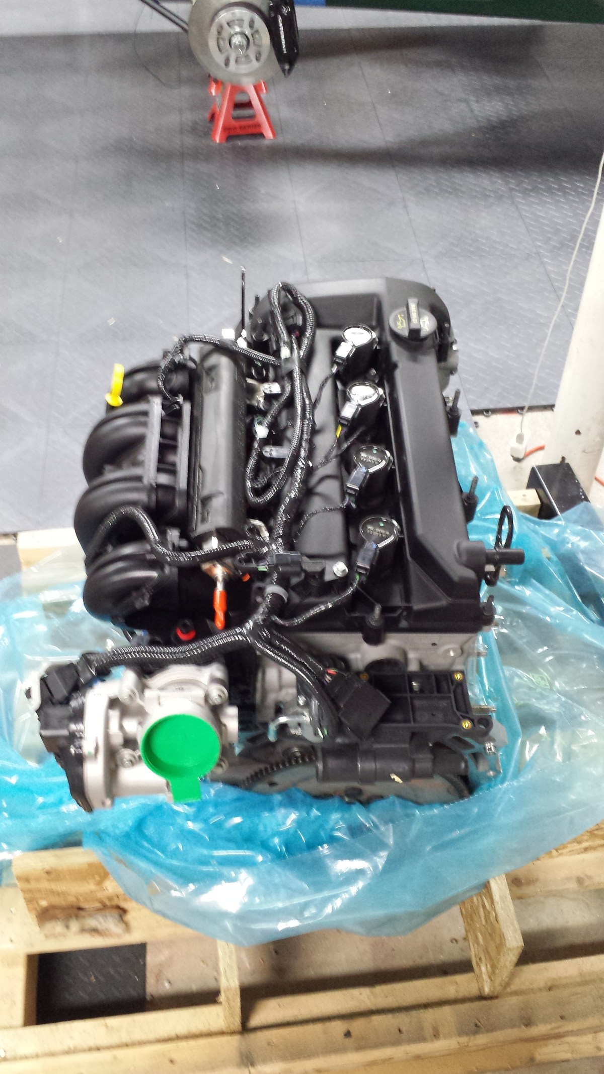 Engine unwrapped