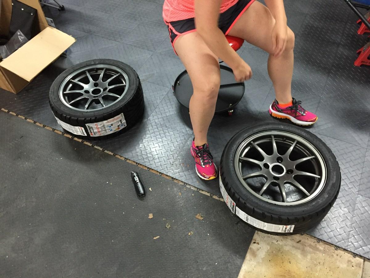 Kim lowering tire pressure
