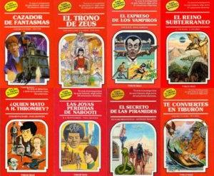 portadas de libros elige tu propia aventura librojuegos diversión