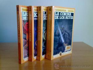 colección libros brujos guerreros steve jackson elige tu propia aventura