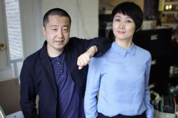 Director Jia Zhangke with his muse Zhao Tao, the star of A Touch Of Sin