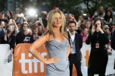 Jennifer Aniston soaks up the limelight for Life Of Crime