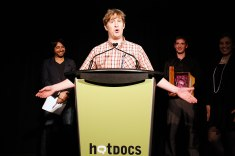Matt Johnson is the recipient of the Lindalee Tracey Award for emerging Canadian filmmakers