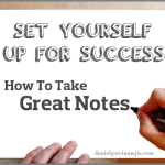 set yourself up for success miniatura