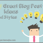 blog post ideas and styles miniatura