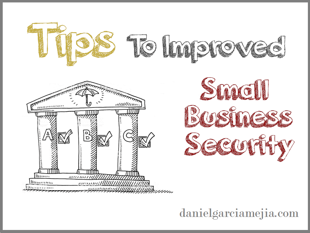 tips to improved small business security banner