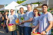 The Farm To Fork team at the Guelph Farmers' Market