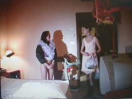 Doll's Room, performance, Flash Art Show, Bologna, 2005
