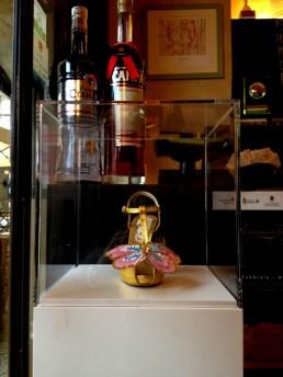 Daniel González, Juliet & the Forbidden Games Shoes #21, 2013 on show at Casa Mazzanti Caffè Verona, for the whole month