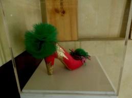 Daniel González, Juliet & the Forbidden Games Shoes #10, 2013 on show at Casa Mazzanti Caffè Verona, for the whole month