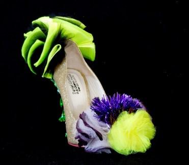 Cut-Up Sculpture Shoes Collection #4, 2015, size 38, unique piece