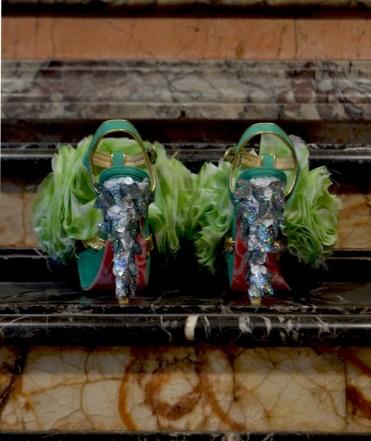 Cut-Up Sculpture Shoes Collection #6, 2015, size 38 - unique piece