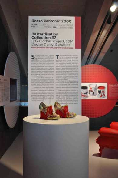 I colori del Rosso, D.G. Clothes Project, installation view, Galleria Campari, Milan