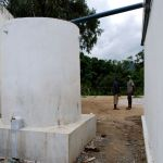 Finished water tank