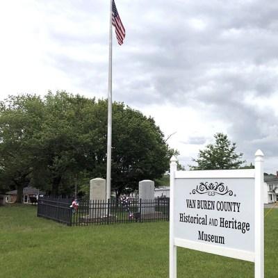 12 - Van Buren County Museum in the old courthouse in Spencer, TN.