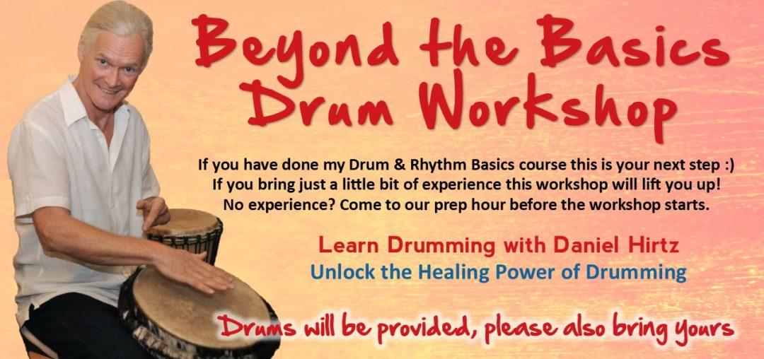 Beyond the Basics Drumming Workshop @ Daniel's home