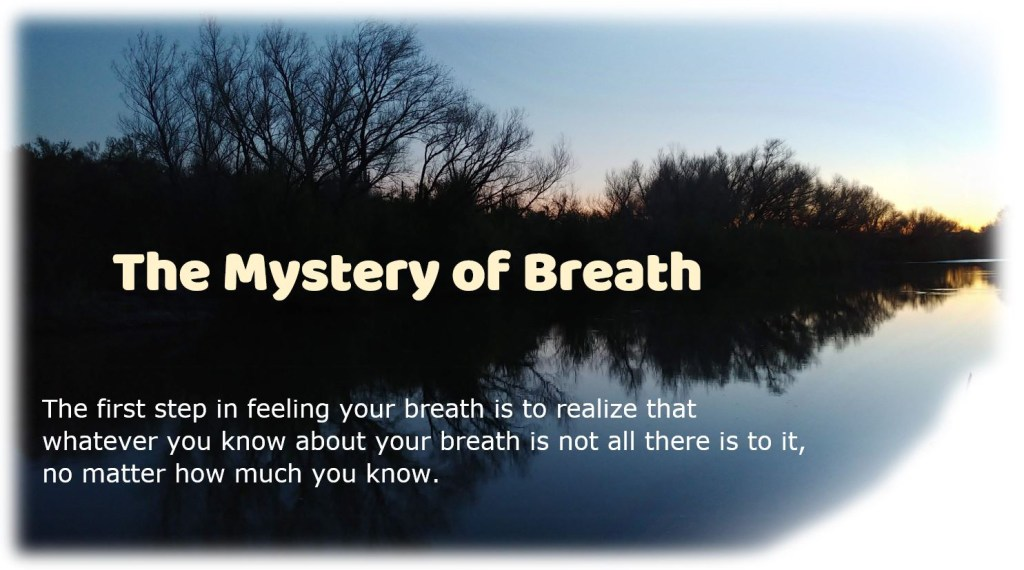 The Mystery of Breath