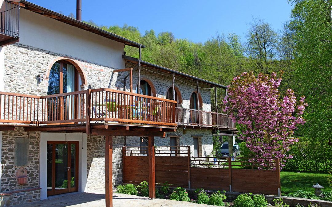 Dufte wohnen im Piemont in Bergagiolo