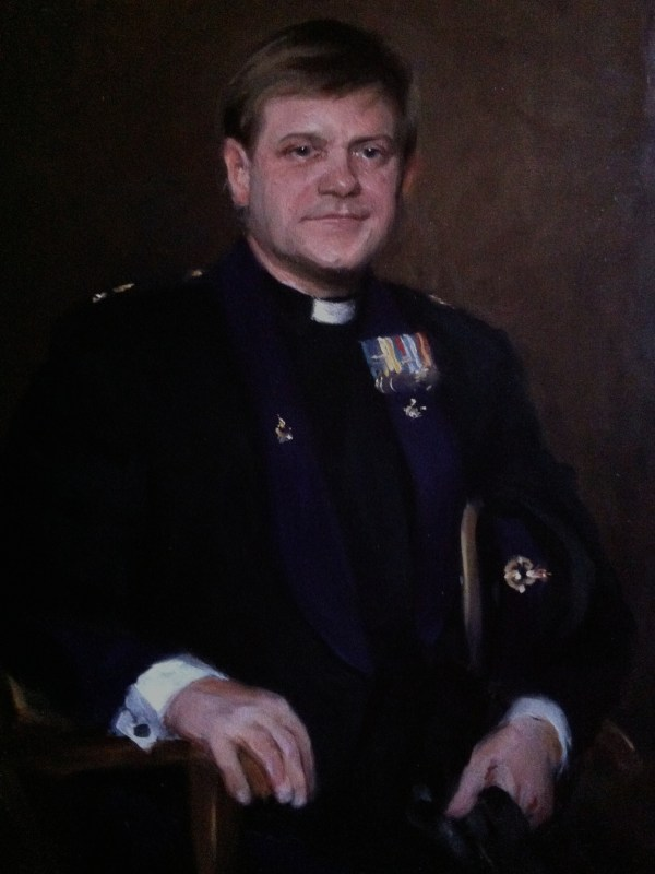 Oil portrait: Father William