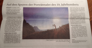 Dan Yeomans in Swiss newspaper