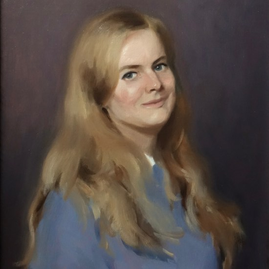 Portrait painting of Emily