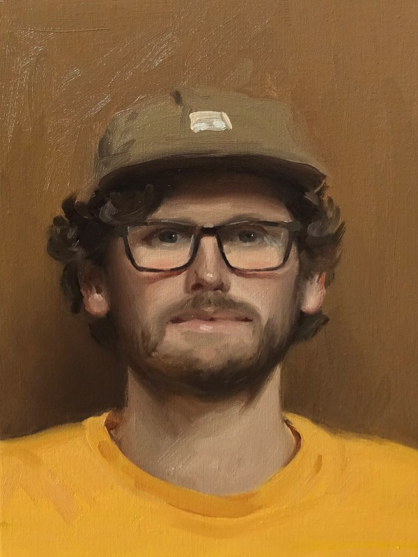 a portrait painting of Paul L Ferguson