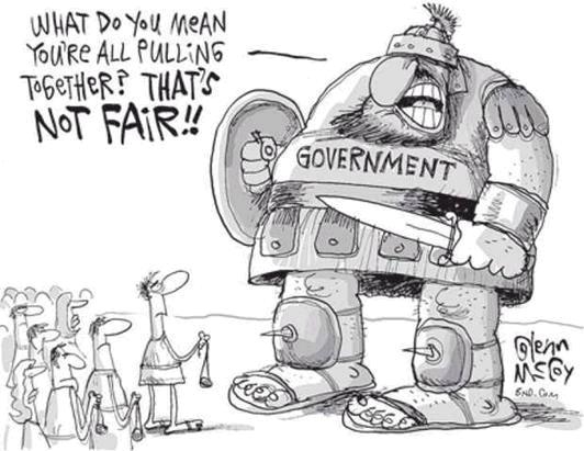 The Essence of Government, as Captured by Cartoons