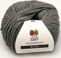 Bugarbush Bliss Gray yarn