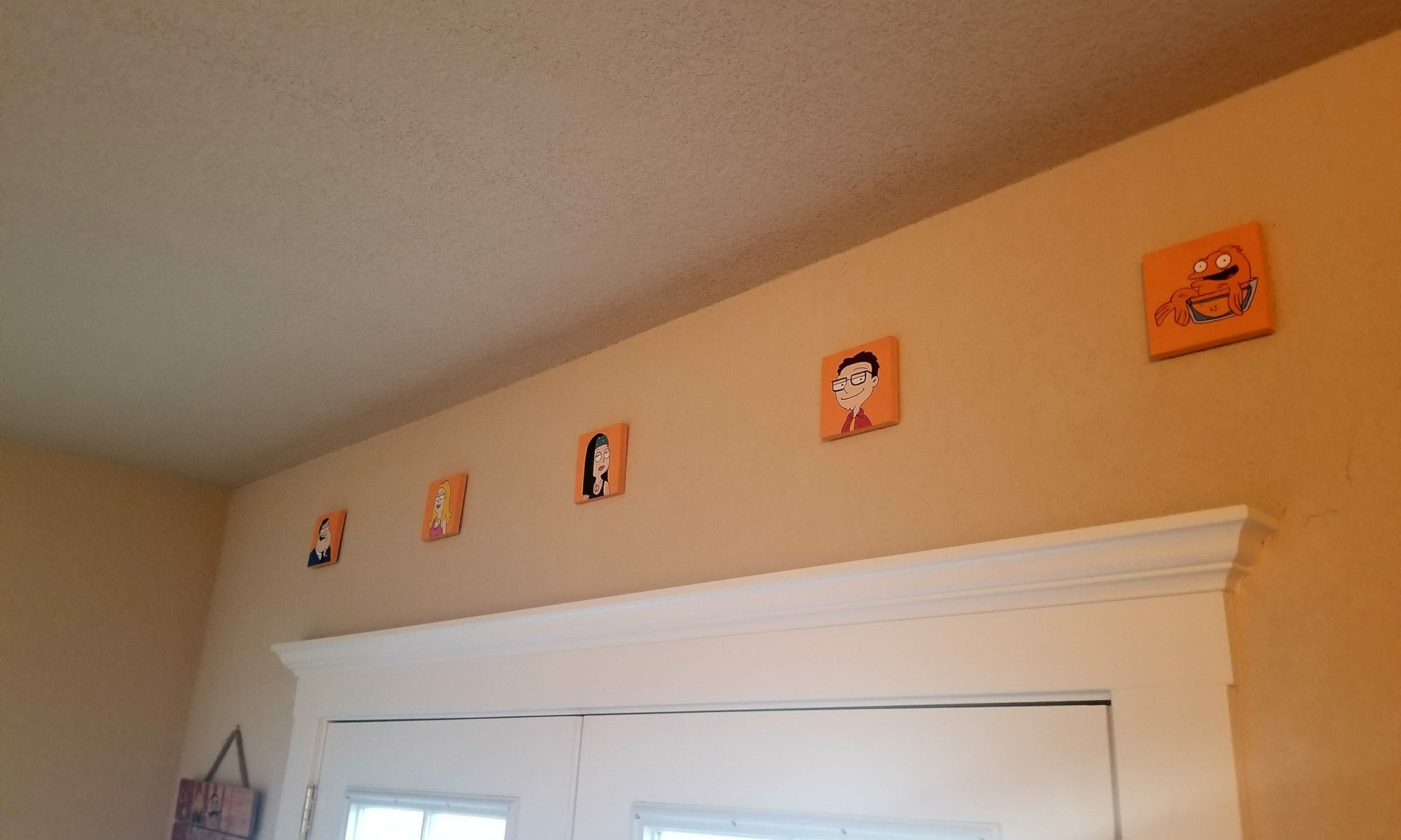 backdoor mini paintings