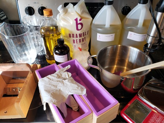 materials for soap making