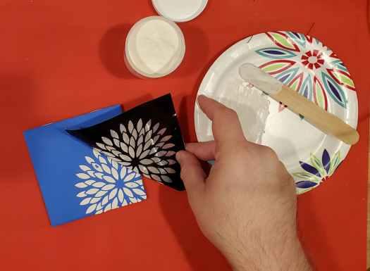 revealing the silkscreen design
