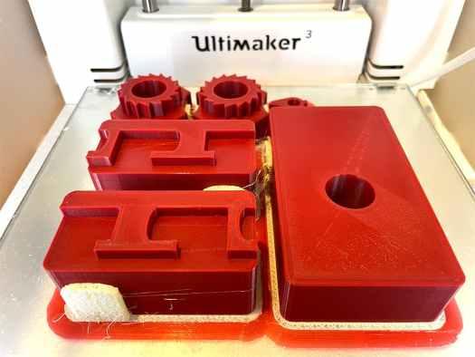 3d printing loom parts