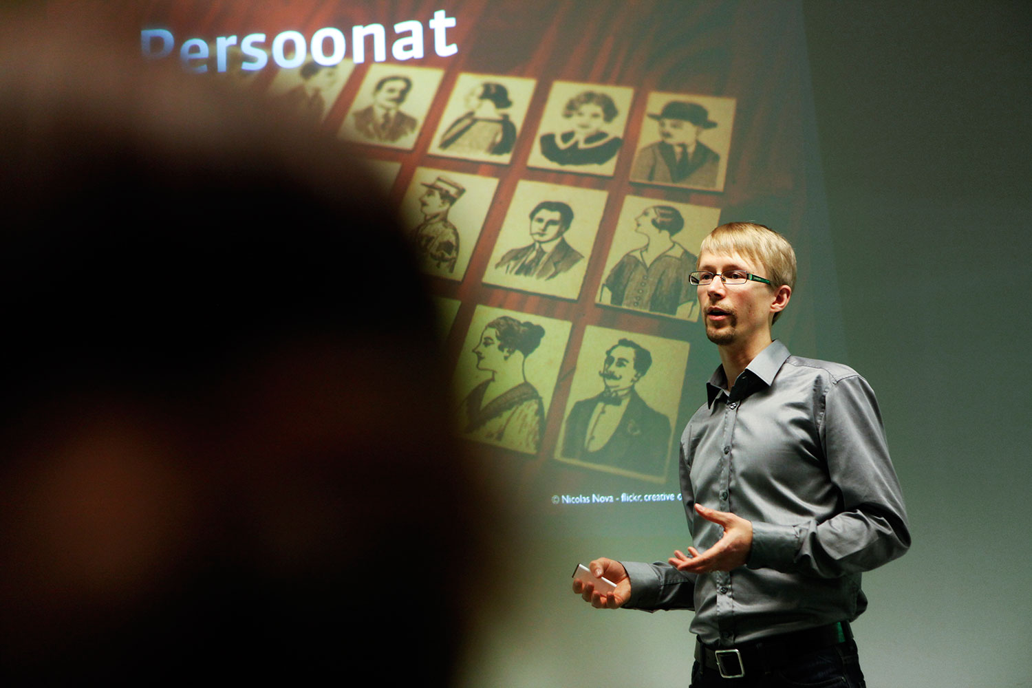 Giving a talk on Personas