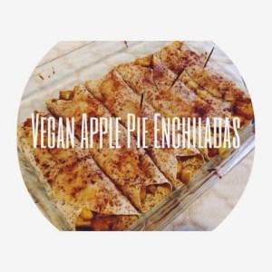 Vegan Apple Pie Enchiladas