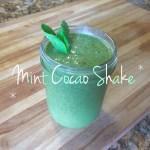 Mint Cacao Shake