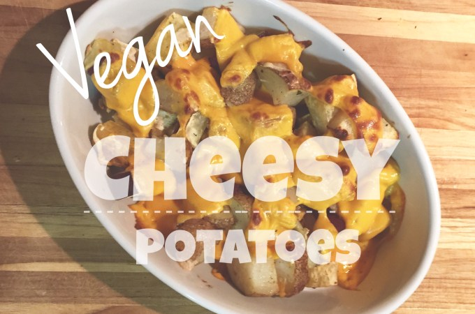 Vegan Cheesy Potatoes