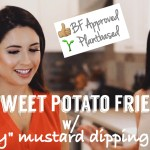 "Sweet Potato Fries & ""Honey"" Mustard Dipping Sauce"