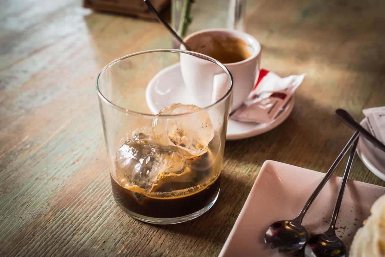 Espresso on ice