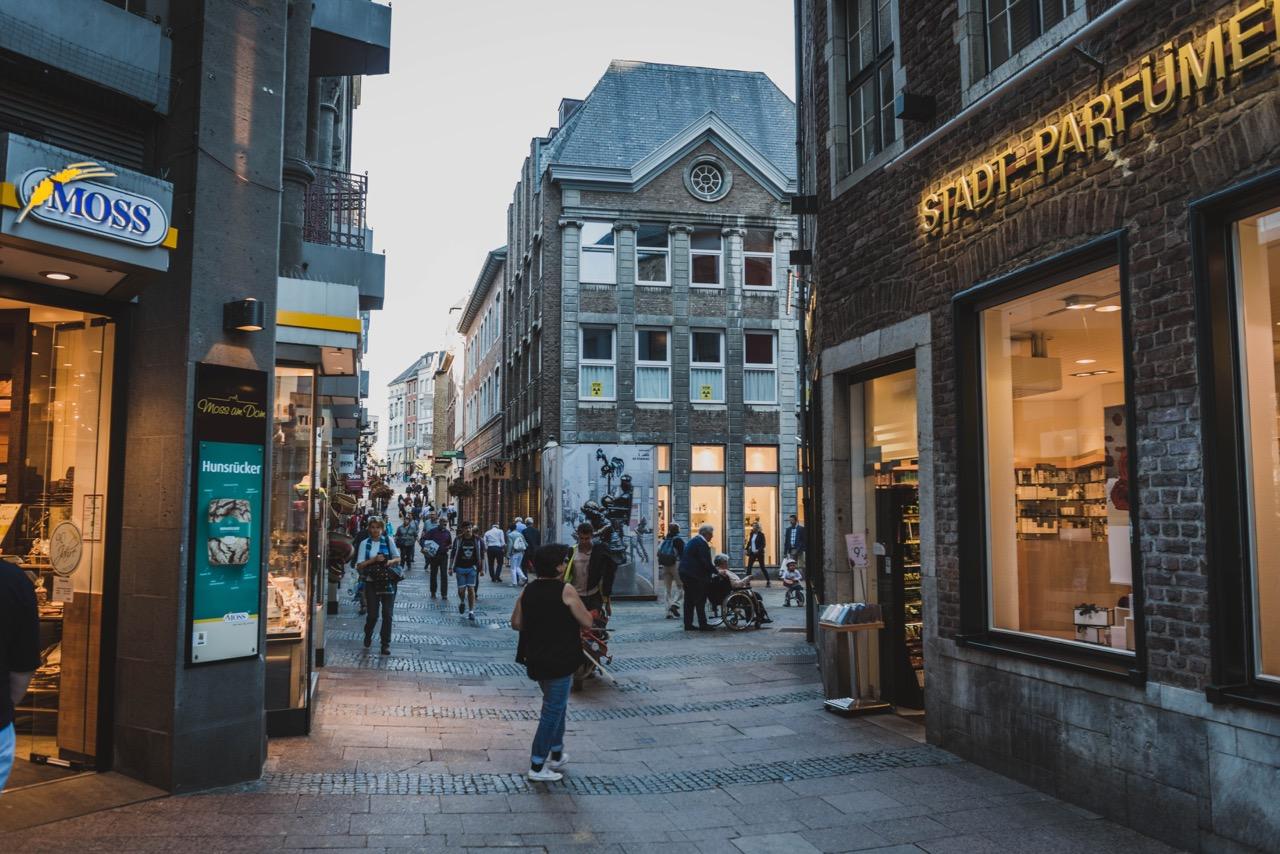 Sightseeing Aachen 2018