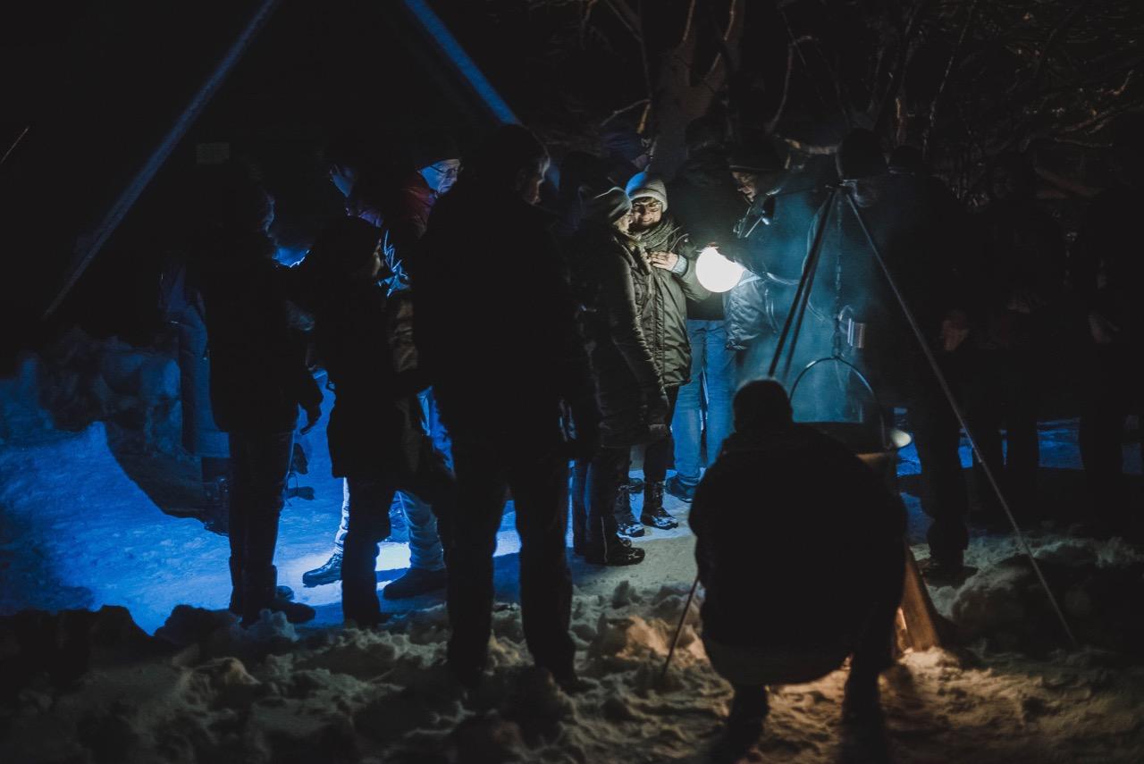 Winterwanderung durch den Thüringer Wal