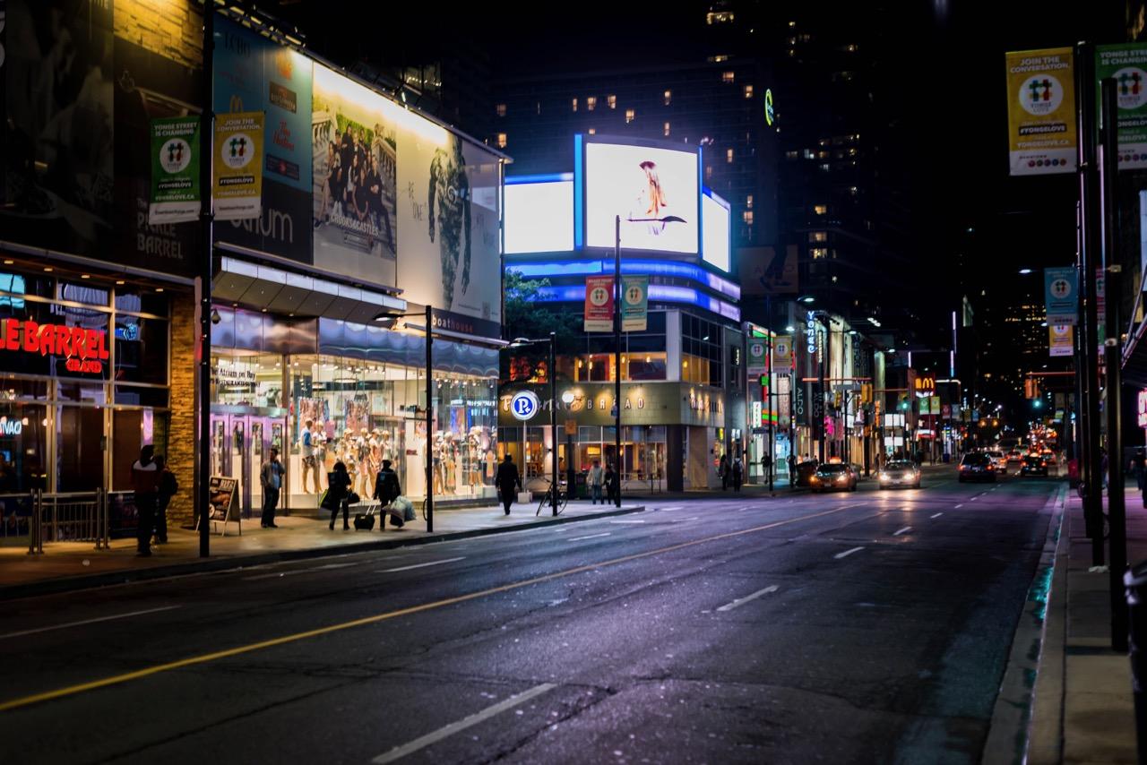 Nachtleben in Toronto