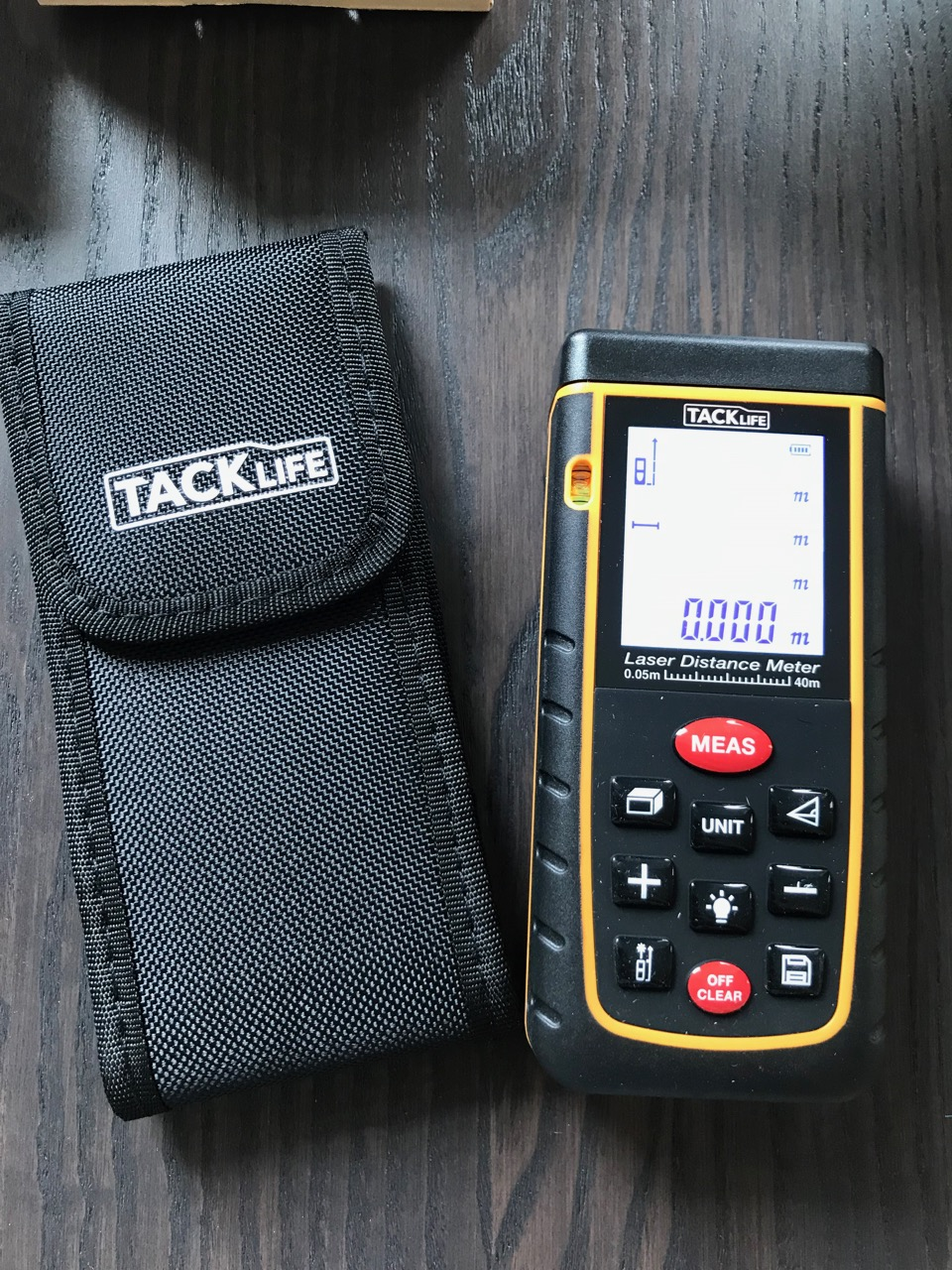 TackLife Laser Distance Meter