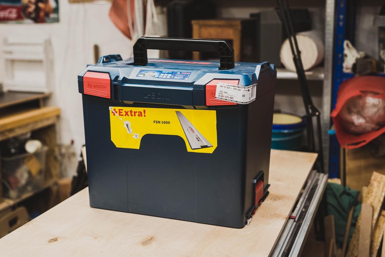BOSCH Professional Tauchsäge GKT 55 GCE - L-Boxx