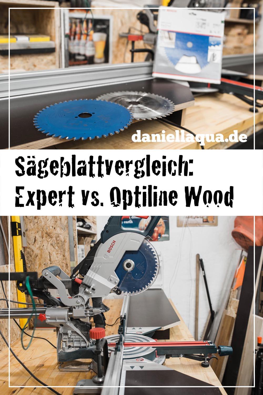 BOSCH Expert Wood Sägeblatt im Vergleich Pin