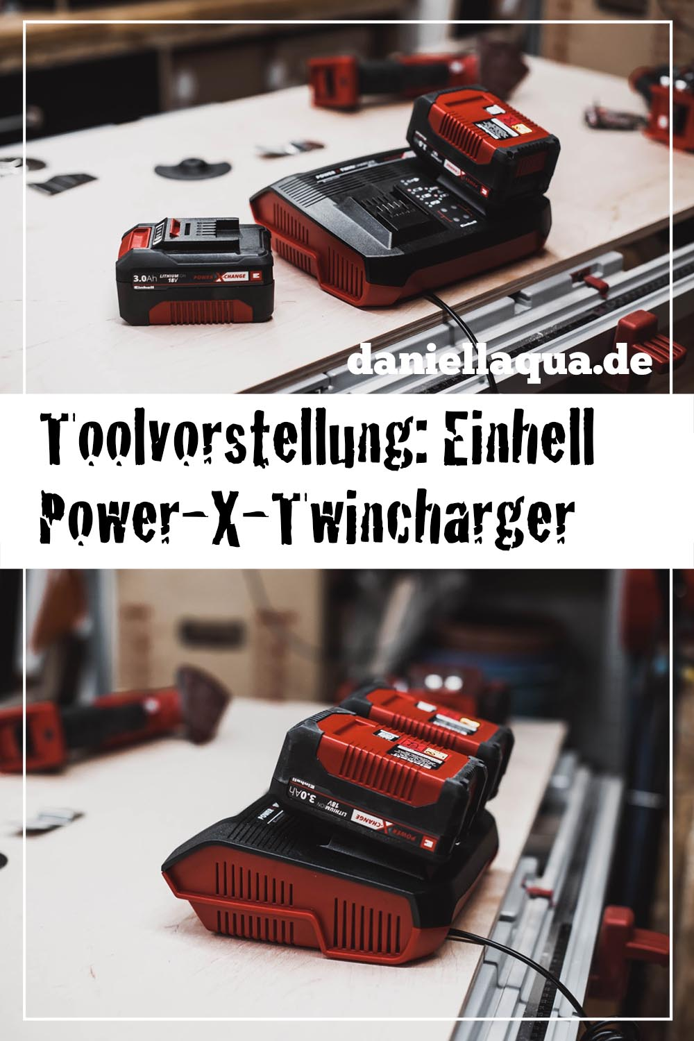 Einhell Power-X-Twincharger Pin