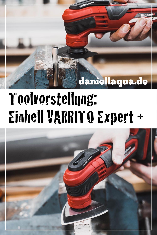Tool Review: Einhell Akku-Multifunktionswerkzeug VARRITO pin